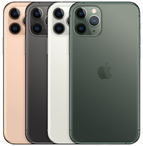 Apple iPhone 11 Pro - Färger - Kameror