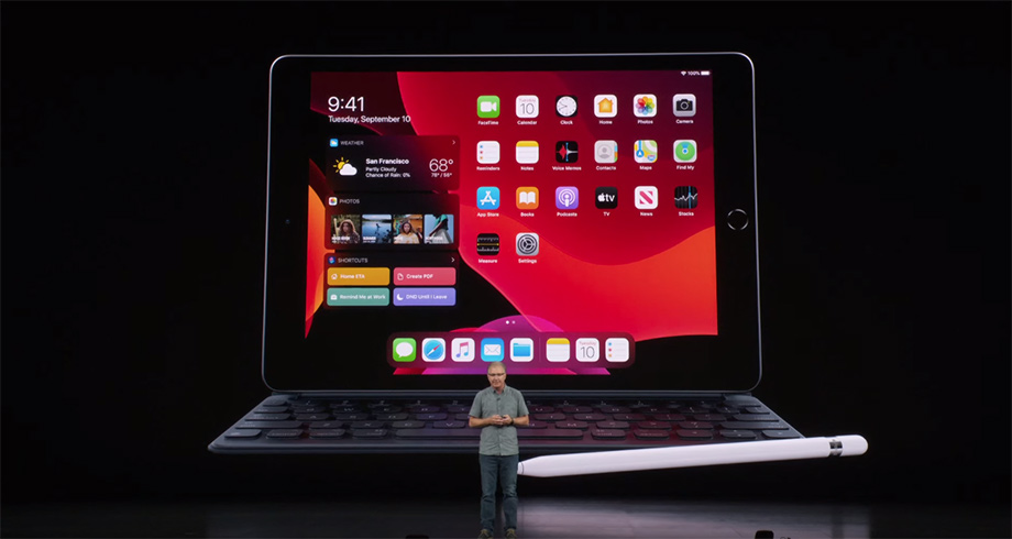 iPad Generation 7 - Apple event