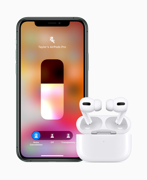 Apple AirPods Pro - Transparency-läge