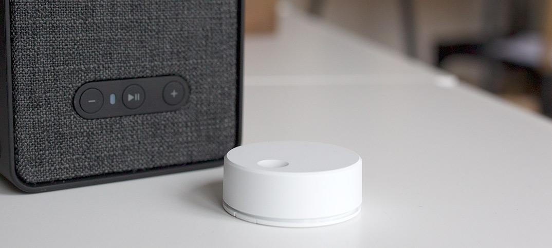 IKEA Symfonisk - Sonos - Fjärrkontroll - Ljudkontroll