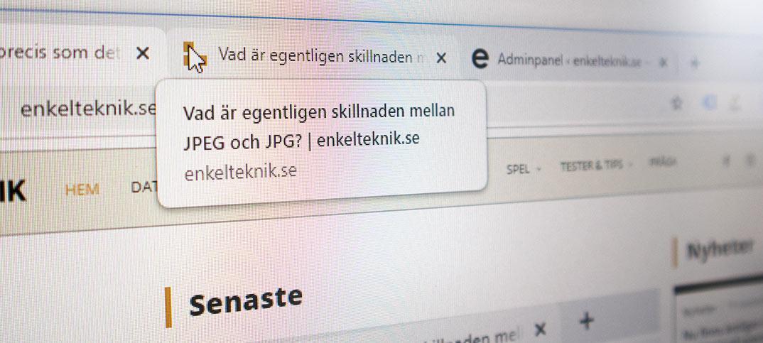Stäng av popup-rutor för flikarna i Chrome