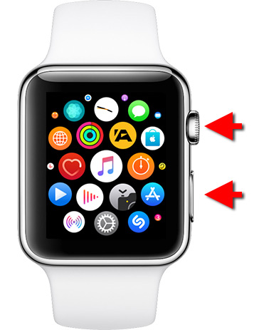 Ta en skärmdump - Skärmbild - Print Screen - Apple Watch