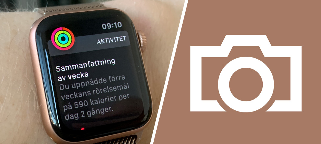 Print Screen - Skärmdump - Skärmbild - Apple Watch