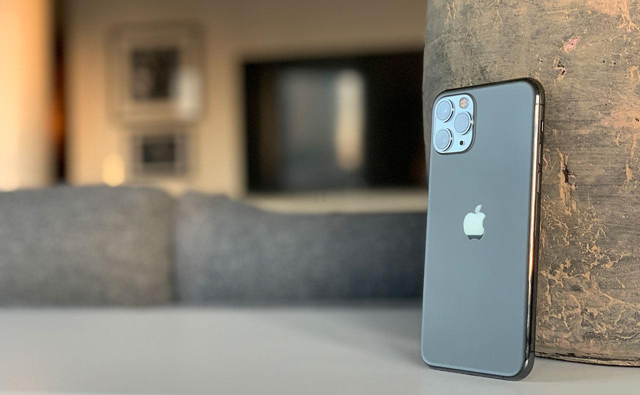 iPhone 11 Pro - Tre kameror - Baksida