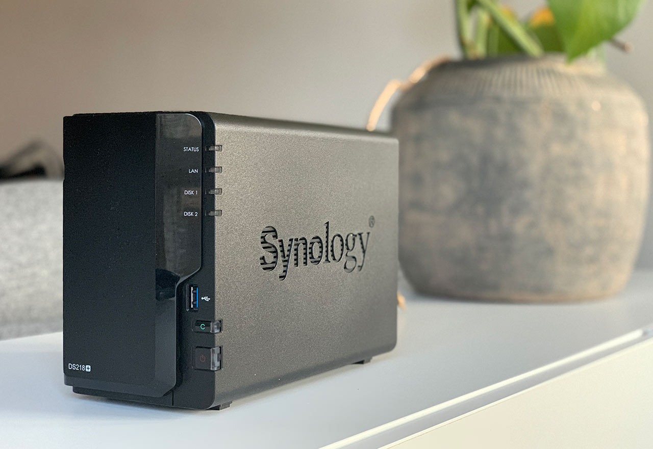 Synology DS218plus - Recension - Test