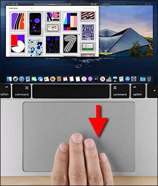 macOS - Se alla fönster i ett öppet program