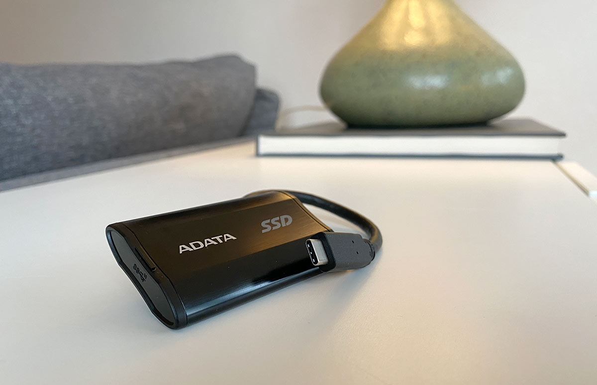 ADATA - SE800 - Test USB-C