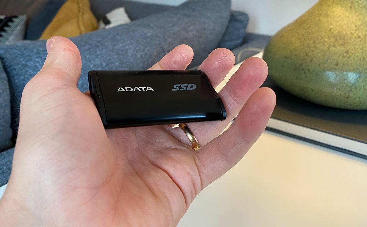 ADATA - SSD - SE800 - Recension - Test - Storlek