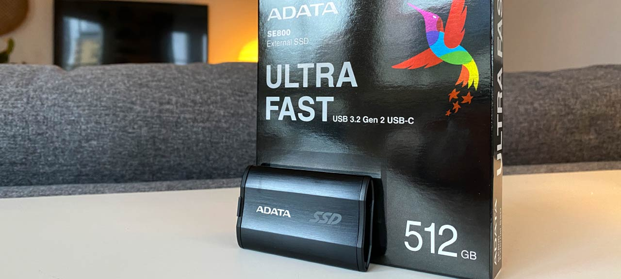 ADATA SE800 - Extern SSD - Test - Recension
