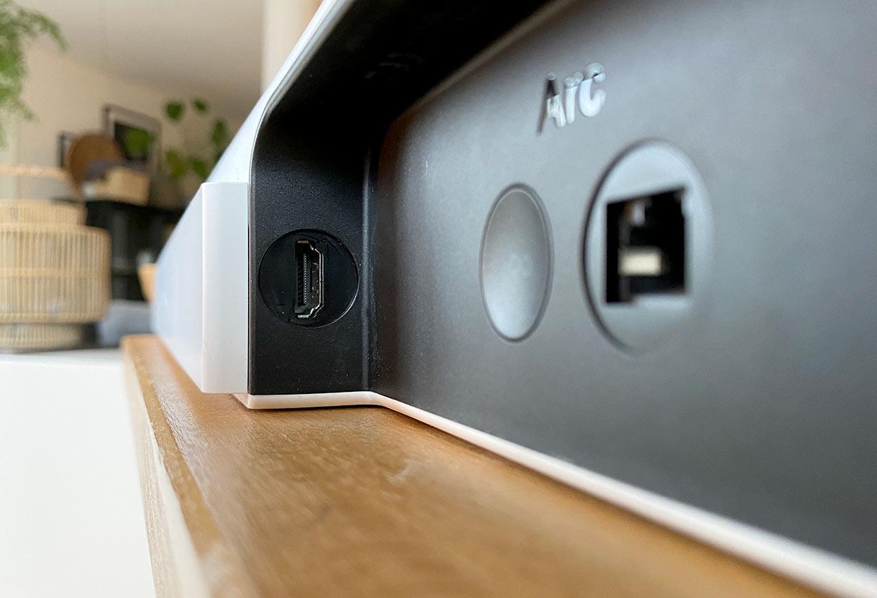 Sonos Arc - HDMI - Baksida