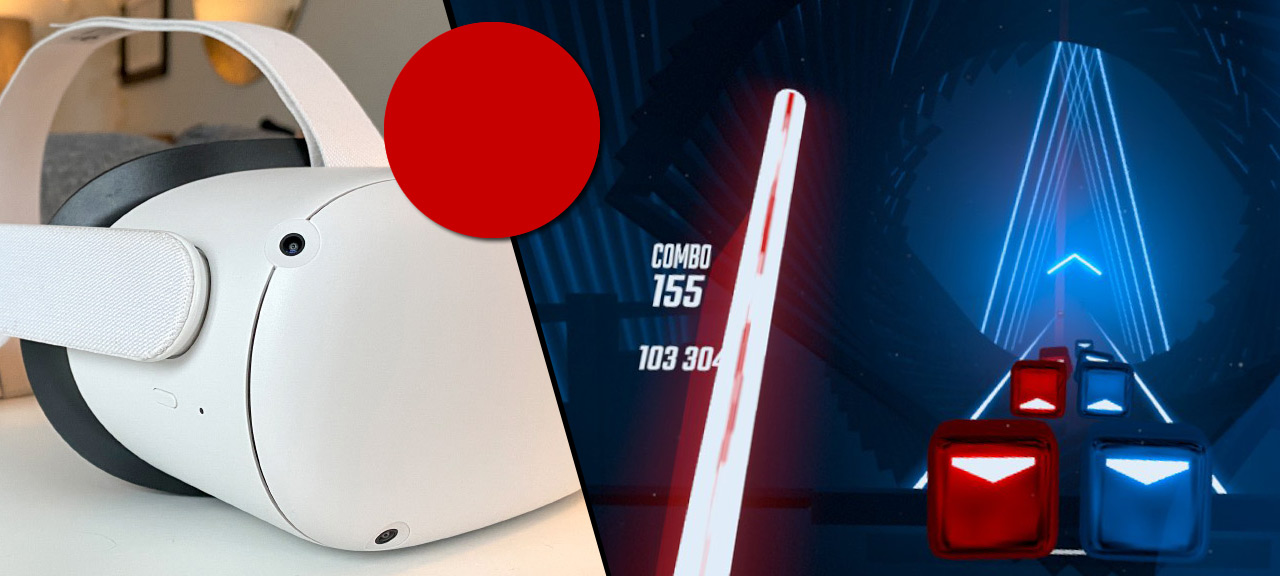 Ta bort den röda pricken vid casting - Oculus Quest 2