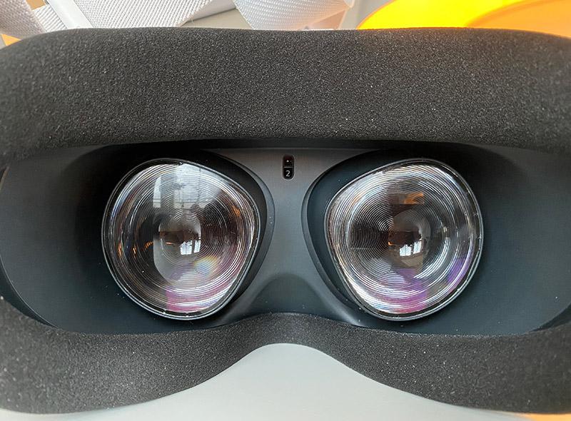 Oculus Quest 2- IPD - Inställning - Insidan
