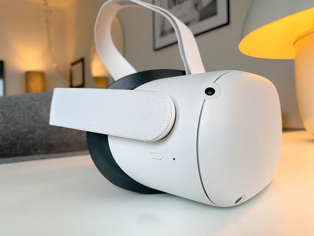 Oculus Quest 2 - Sidoknapp
