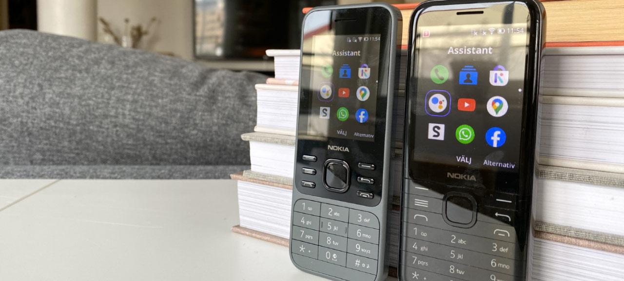 Nokia 8000 - Nokia 6300 - Test - Recension