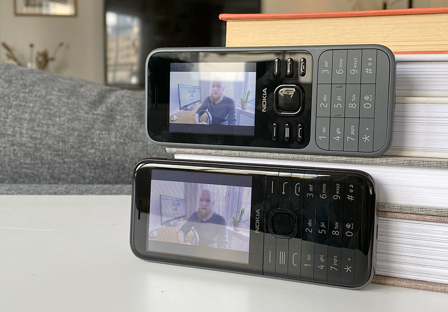 Nokia 8000 6300 - YouTube - Test