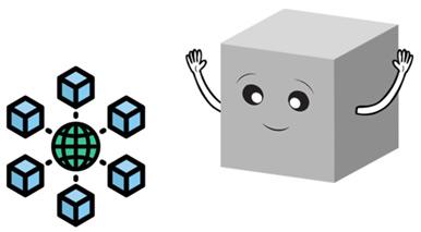 Ett block vill gå med i blockkedjan