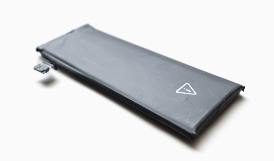 Mobiltelefon batteri - Litium-jon