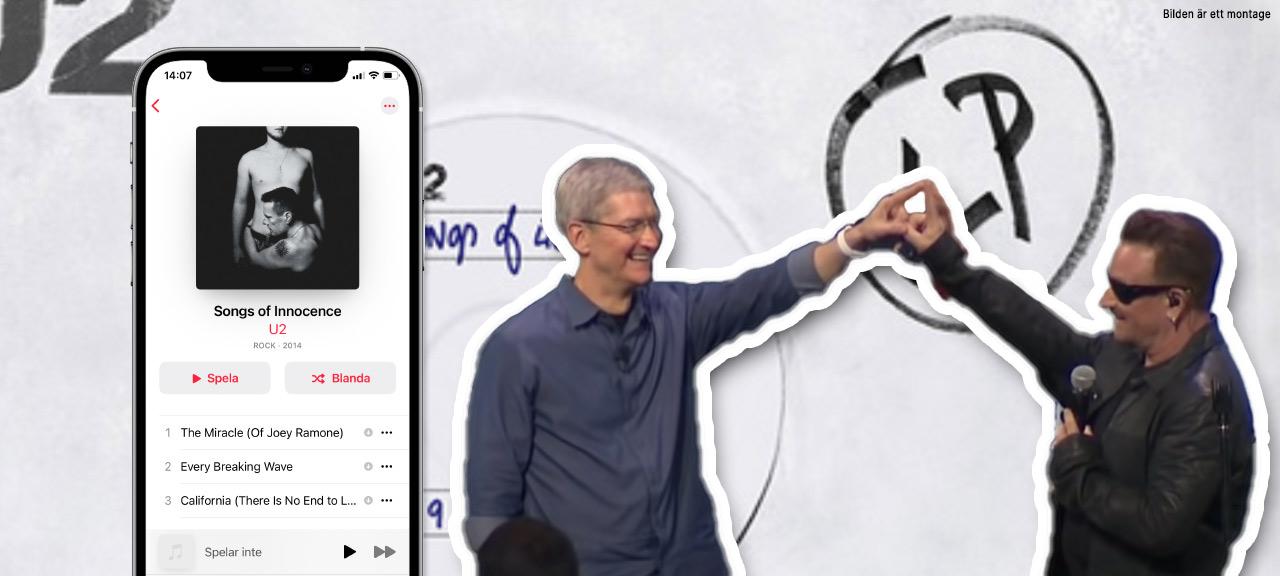iPhone - iTunes - U2 - Songs of Innocence - Varför