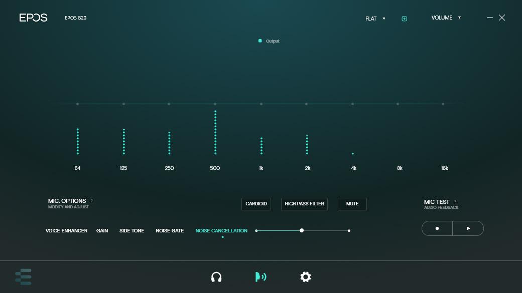 EPOS - Gaming Suite - Mjukvara - B20 - Review