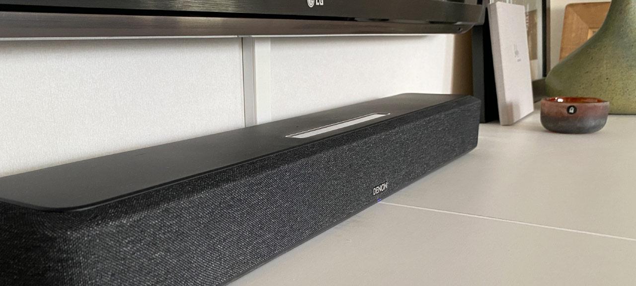 Denon Sound Bar 550 - Recension - Test