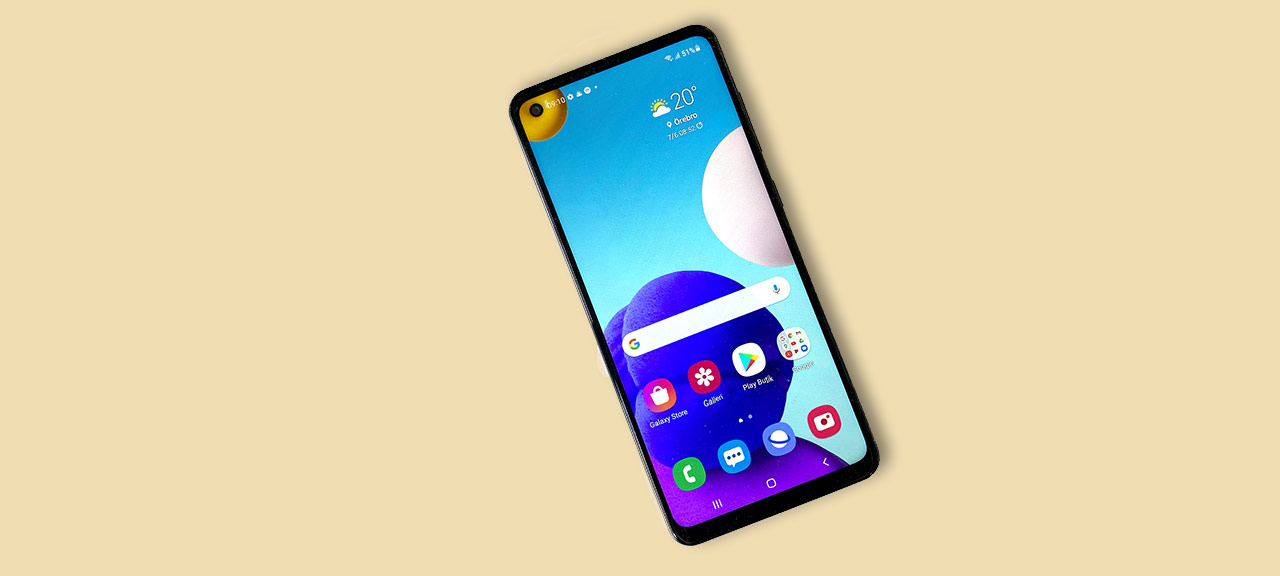Samsung Galaxy A21s - Test - Recension