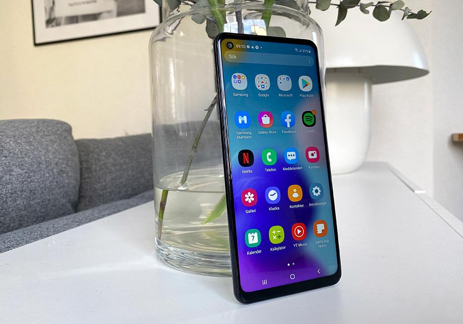 Samsung Galaxy a21s - Appar - Översikt