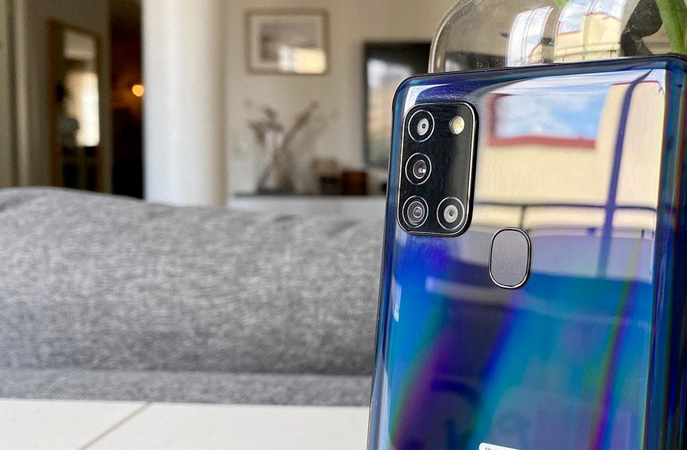 Samsung Galaxy A21s - Kameror - Baksida