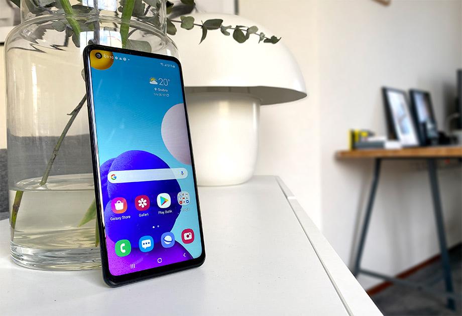 Samsung Galaxy A21s - Recension - Test