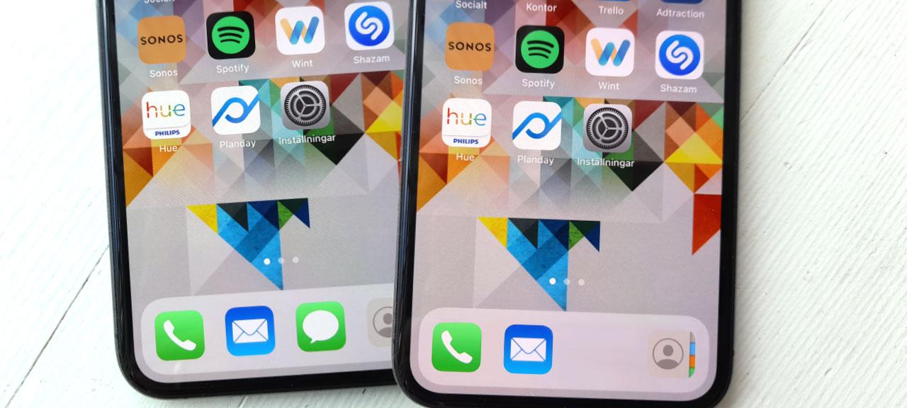 App har försvunnit från min iPhone