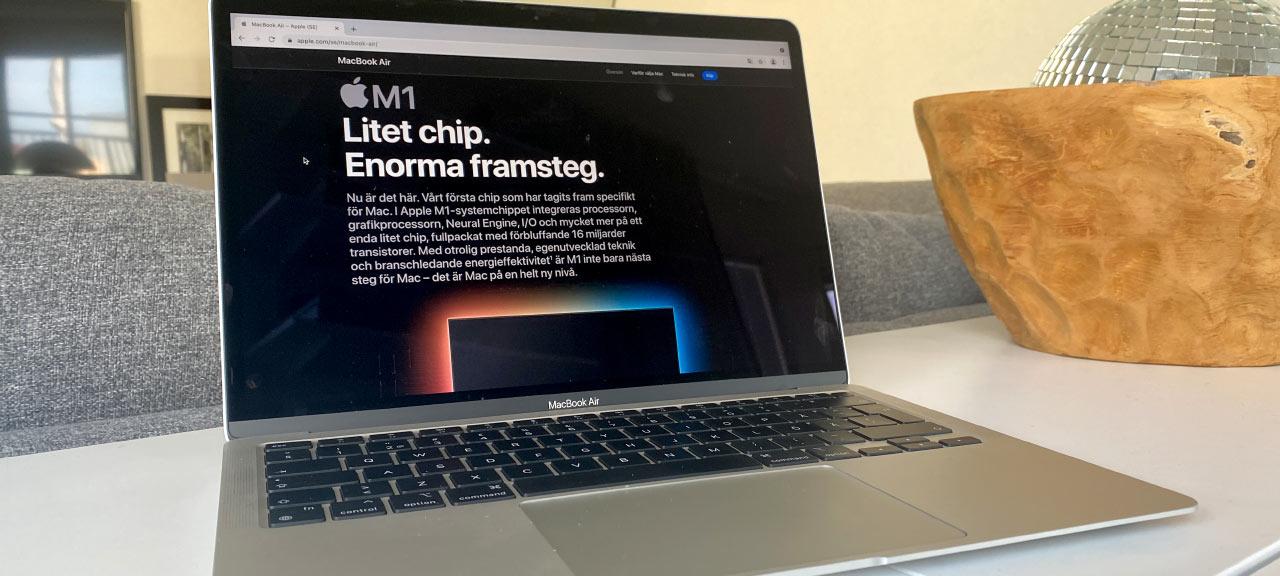 MacBook Air - M1 - 2020 - Recension - Test
