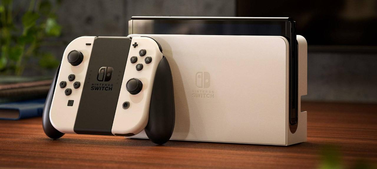 Nintendo släpper Switch OLED