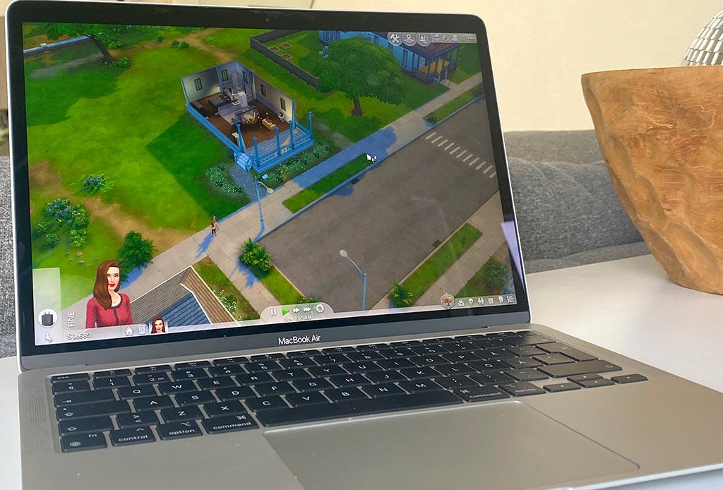MacBook Air M1 2020 - The Sims 4