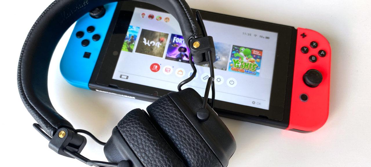 Nintendo Switch - Bluetooth-hörlurar